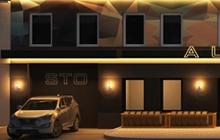 Дизайн фасада СТО