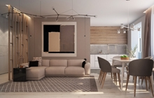Дизайн интерьера квартиры город Винница
