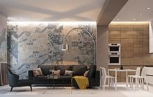 Дизайн интерьера квартиры в современном стиле ул. Успенская