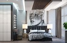 Дизайн интерьера квартиры в стиле лофт ЖК «Михайловский»