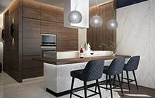 Дизайн интерьера квартиры  ЖК «Маршал Сити»