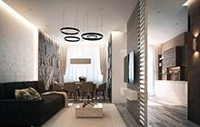 Дизайн интерьера квартиры ЖК «Дмитриевский»