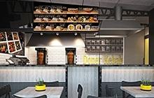 Дизайн интерьера Doner kebab halal