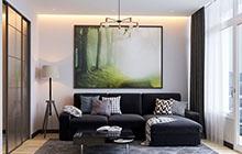 Дизайн интерьера однокомнатной квартиры в ЖК