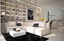 Дизайн интерьера квартиры, Одесса  ЖК «Graf»
