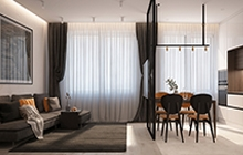Дизайн интерьера квартиры, Одесса в ЖК