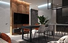 Дизайн интерьера  квартиры, Одесса  ЖК