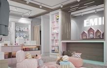 Дизайн интерьера детского магазина, Одесса ул. Гагарина