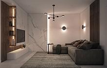 Дизайн интерьера квартиры город Южный