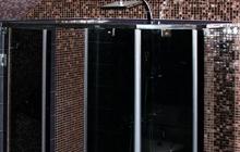 Душевая кабинка из тонированного закаленного стекла