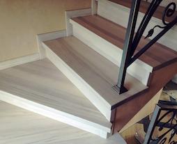 Ступень для лестницы из массива дуба