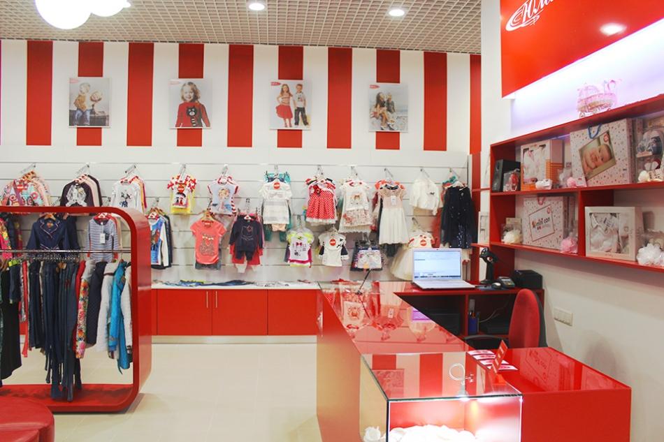 Ремонт магазина детской одежды юла