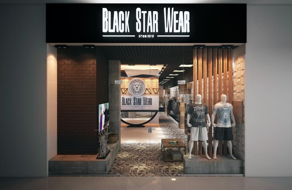 Black star одежда купить