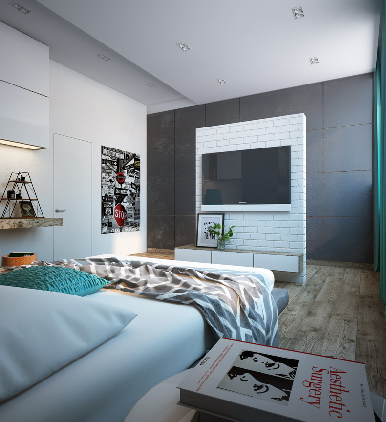 Дизайн квартиры 36 квм
