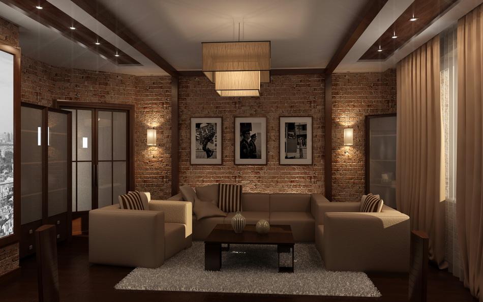 Дизайн в доме 1 комнатной квартиры