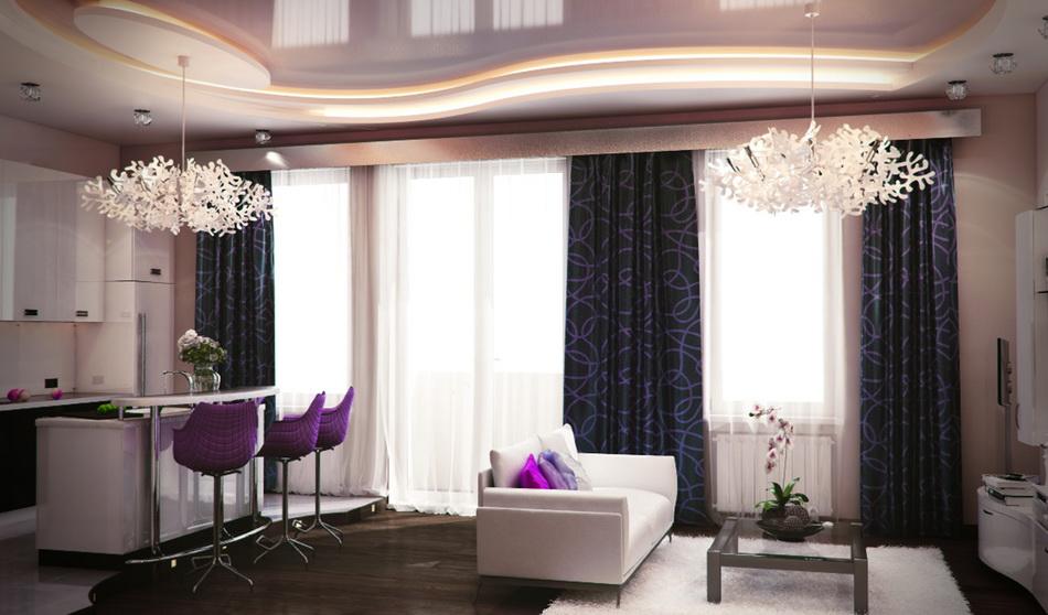 Дизайн проект интерьера квартиры в
