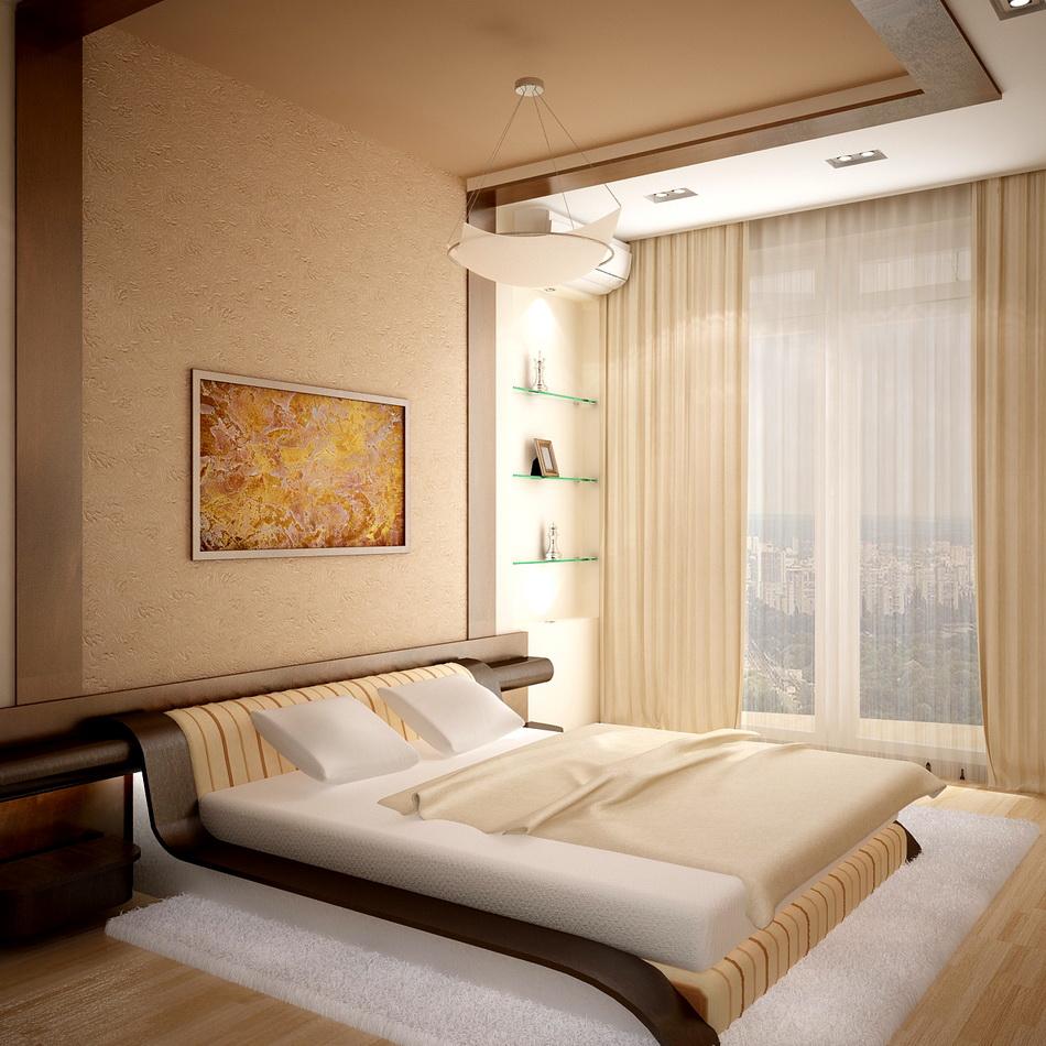 отделка спальни в квартире фото погребения