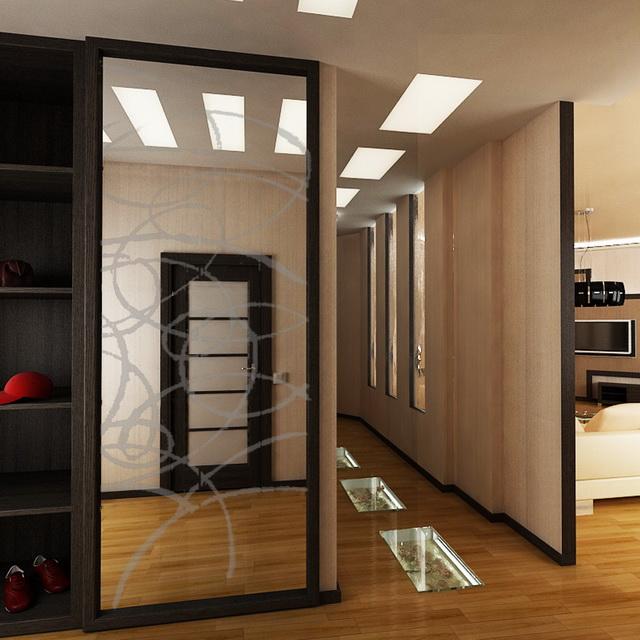 Дизайн проект маленькой квартиры в стиле модерн в г: Проект квартиры по адресу Маршала Говорова 18а