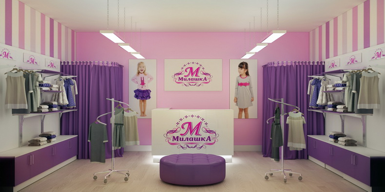 Магазин Женской Одежды Интерьер