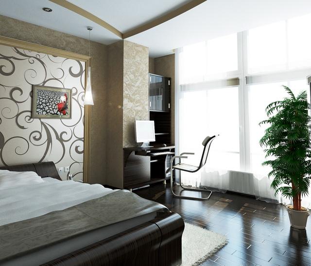 Дизайн проект маленькой квартиры в стиле модерн в г: Квартира г. Одесса, ЖК «Гранд Парк»