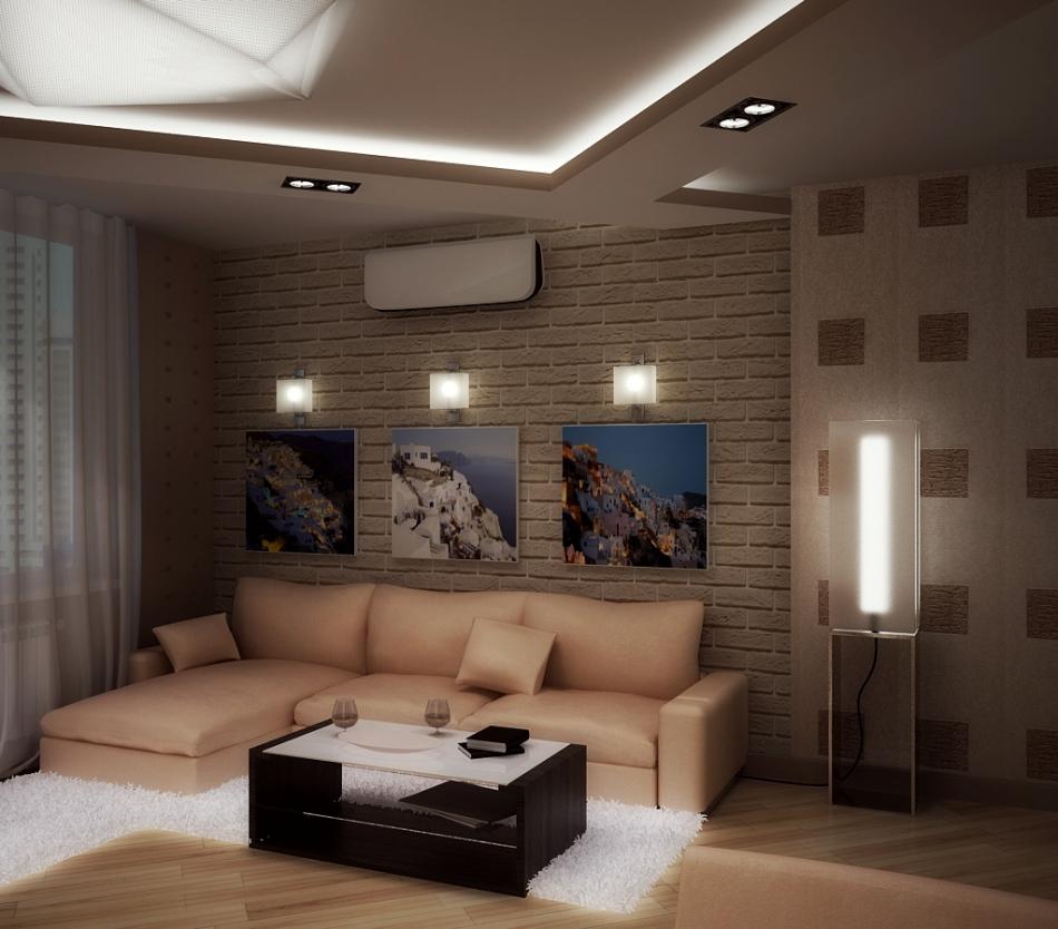 Дизайн проект маленькой квартиры в стиле модерн в г: Квартира в современном стиле г. Одесса, ул. Глушко 32