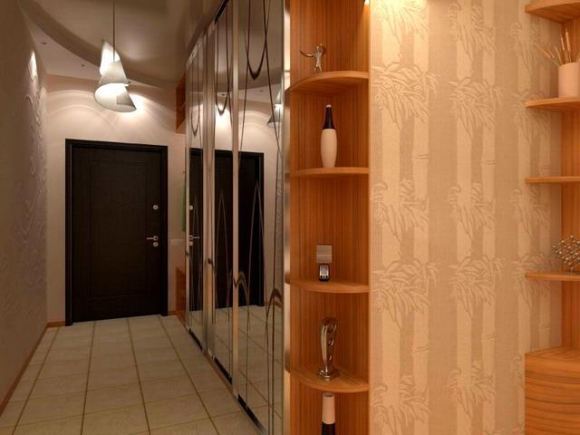 Маленькая прихожая дизайн в квартире реальные