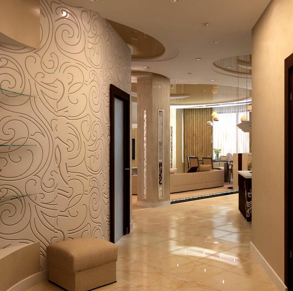 Прихожие коридоры дизайн фото