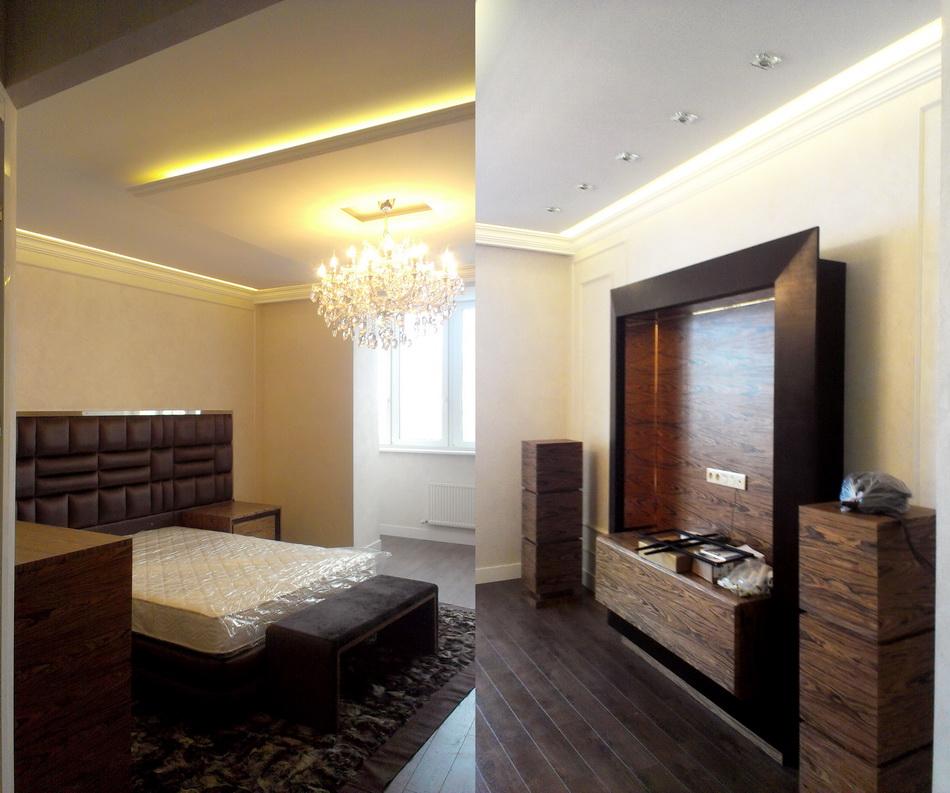 Дизайн проект маленькой квартиры в стиле модерн в г: Ремонт в трехкомнатной квартире по дизайн-проекту студии